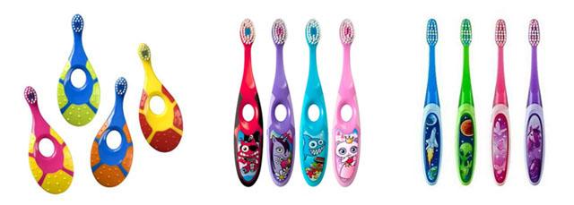 Різноманіття дитячих зубних щіток