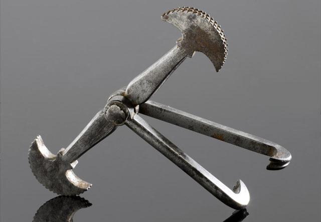 Інструмент для видалення зубів «пелікан»