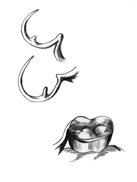 Кламер системи Нея №4 (кільцевий, одноплечовий)