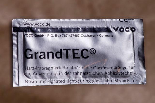 Скловолоконна стрічка в стерильній упаковці. Мал. 2