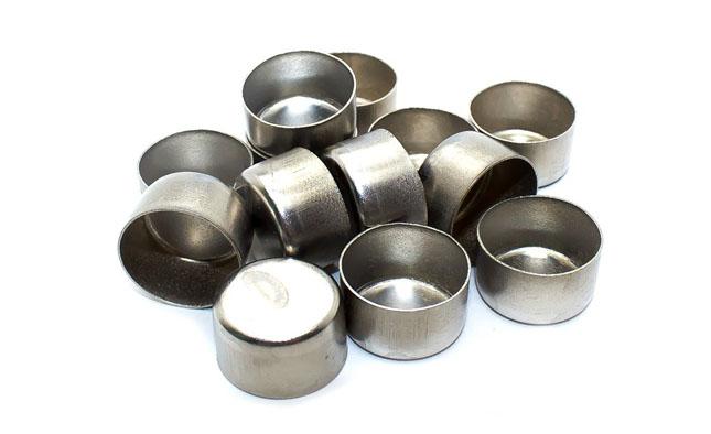 Металеві гільзи виготовлені зі сталі марки 1Х18Н9Т